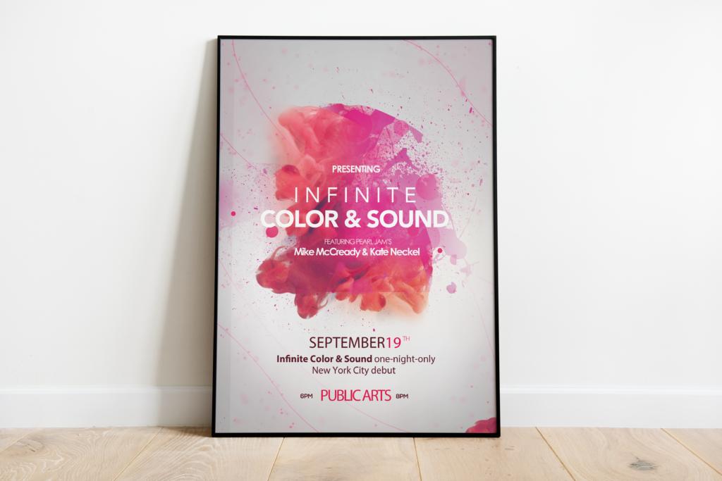 Color & Sound Poster
